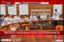 Modi unveils 10-point agenda for governance