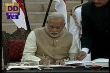 Narendra Modi takes oath as the 15th Prime Minister of India