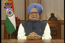 I owe everything to India where I, an underprivileged child of Partition, was empowered: PM Manmohan in his farewell speech