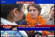 Priyanka snubs Modi over daughter remark, says enough is enough