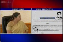 Education row: Smriti Irani appeals to DU to reinstate suspended officials