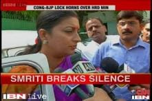 Smriti Irani breaks silence, urges people to judge her for her work