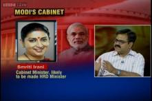 Smriti Irani likely to get HRD ministry: Sources