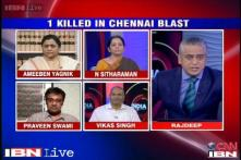 Is politics being played out over Chennai terror blasts?
