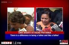 Priyanka unaware of Indian culture: Uma Bharti