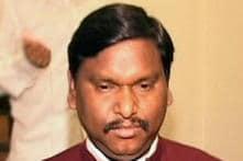 Arjun Munda congratulates K Chandrasekhar Rao on being sworn-in as Telangana CM
