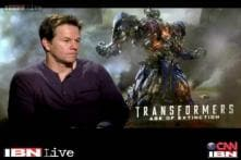 Idol chat: Mark Wahlberg on ' Transformers: Age of Extinction'
