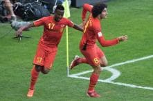 World Cup 2014: Origi's late winner guides Belgium to last 16 with win over Russia
