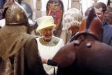 Britain's Queen Elizabeth visits 'Game of Thrones' set in Ireland, meets cast and crew