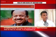 Harsh Vardhan faces flak for saying sex education should be banned