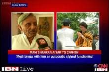 Modi brings with him an autocratic style of functioning: Mani Shankar Aiyar