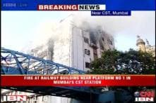 Fire at building near Mumbai's busy CST railway station brought under control