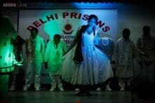 Snapshot: Tihar inmates walk the ramp in clothes made inside the jail under the guidance of fashion designer Reena Dhaka