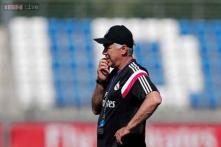 Carlo Ancelotti unfazed after Real Madrid suffer second setback