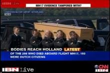 Two planes carrying 40 bodies of MH17 passengers arrives in Netherlands