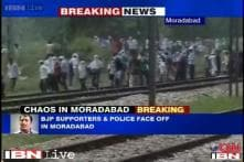 Communal violence over installation of loudspeakers in religious place cripples Moradabad