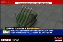 Buk missile with high explosive warhead may have hit the Malaysian plane