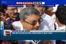 TMC MP says some BJP MPs tried to beat him, says one BJP MP was drunk