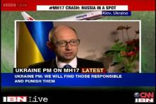 MH17: Someone trained, not drunk terrorists responsible, says Ukrainian PM