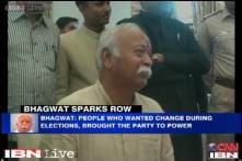 BJP won Lok Sabha polls as people wanted change, not because of its leaders: RSS's Mohan Bhagwat