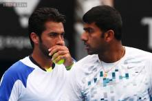 Bopanna-Qureshi suffer first-round defeat in US Open