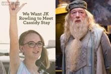 JK Rowling writes as Dumbledore to 15-year-old Harry Potter fan who lost her entire family in a shooting