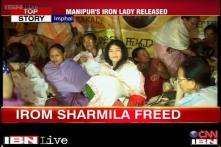 Manipur's Iron Lady vows to continue war on AFSPA after release