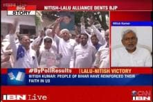 Nitish hails people's verdict; Shahnawaz takes responsibility of poll debacle