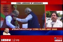 BJP using language of arrogance, says Rajeev Shukla