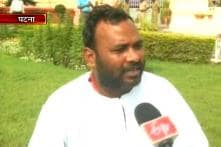 RJD MLA on a hunger strike threatens self-immolation on Independence Day