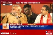 Maharashtra polls: Shiv Sena rejects BJP's 135-seat sharing formula, says will fight on at least 150 seats