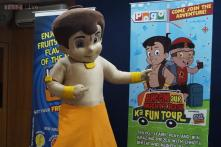 Chhota Bheem meets his young fans, talks to them about India's rich heritage