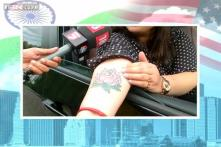 Modi fans in New Jersey flaunt customised car number plates, BJP tattoos