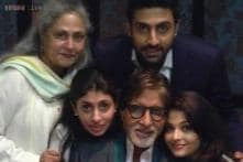 Amitabh Bachchan celebrates his 72nd birthday with family; son Abhishek shares family pictures