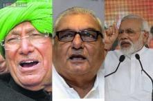 Triangular fight in Haryana, Congress banks on development, BJP on change, INLD on sympathy