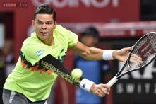 Milos Raonic beats Donald Young to reach Swiss Indoors quarters