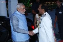 In Pics: PM Modi attends 'At Home' dinner hosted by IAF chief