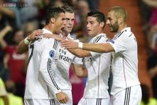 Karim Benzema's late goal helps Real Madrid win 2-1 at Ludogorets