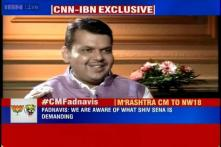 Working to include Shiv Sena in the Cabinet, talks moving in a positive direction: Maharashtra CM