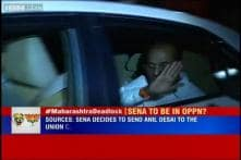 PM Modi meets Shiv Sena MP Anant Geete to break Maharashtra deadlock