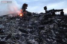 New MH17 video shows how the burning jet just missed hitting a Ukrainian village