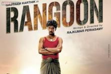 'Rangoon' first look: A lungi-clad Gautham Karthik stares you down from the first poster of the Rajkumar Periasamy film