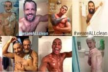 Done with the Ice Bucket Challenge? Now pull up your shirts for the HIV Shower Selfie Challenge to fight AIDS!