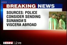 Sunanda Pushkar's viscera likely to be sent abroad for further analysis