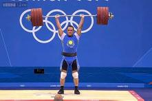 Watch: Ilya Ilyin creates an epic clean and jerk world record by lifting an unbelievable weight of 242 kg!