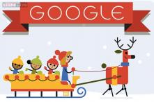 'Tis the season! Google posts a Happy Holidays 2014 doodle