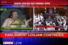 Disruptions in Parliament continue over BJP minister's controversial remark