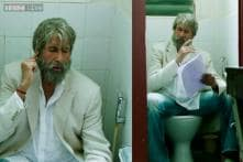 Watch: New song 'Piddly' from 'Shamitabh' features Amitabh Bachchan sitting and singing fully-clothed on a commode