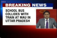 UP: 5 dead, 25 injured after school bus collides with a train in Mau