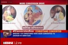 Amritsar: RSS offshoot converts over 120 Christians to Sikhism